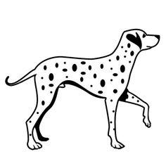 Wholesale 5pcs,10pcs,11.6*9CM Dalmatian Dog Car Stickers Lovely Vinyl Decal Motorcycle Car Styling Decoration