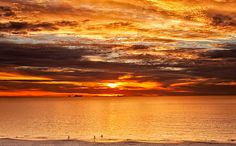 Indian Ocean Sunset, South Cottesloe, Perth, Western Australia