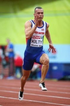 Richard Kilty - Athletics. 100m relay.