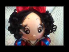 Snow White Fofucha Doll Foamy Doll
