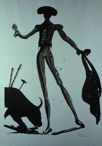 Toreo Noir - (Salvador Dali)