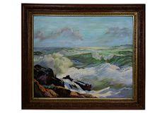 Breaking Surf on Rocks on OneKingsLane.com