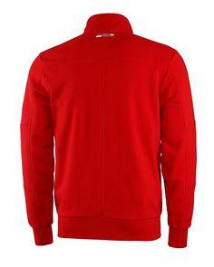 Bluza Ferrari Zip Sweatshirt - Red CZERWONY | FERRARI MEN \ BLUZY I SPODNIE | Fbutik | Scuderia Ferrari Collection