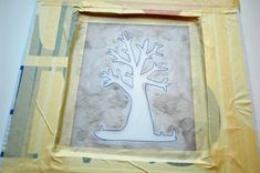Screen Printing with Mod Podge: A Tutorial