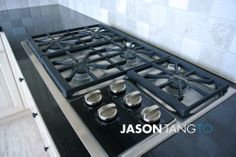 Ritz Carlton Residences 183 Wellington West top end appliances such as Wolf range in kitchen