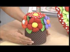 Porta rollos con flores.2/5 - YouTube