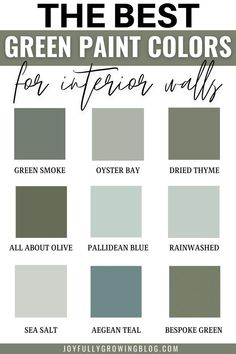 Everything You Need To Know About Green Paint + Best Green Painted Walls & Kitchen Cabinet Colors