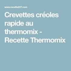 Crevettes créoles rapide au thermomix - Recette Thermomix