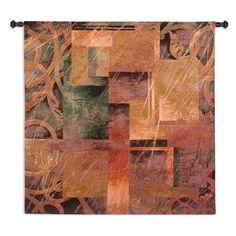 Fine Art Tapestries Visual Pattern II Wall Tapestry - 1576-WH
