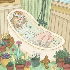 Ophelia by Kayla Miller on Society6 • So Super Awesome is also on Facebook, Twitter and Pinterest •
