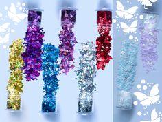 Nail Art At Home, 3d Nail Art, 3d Nails, Glitter Nails, Diy Your Nails, Colorful Nail Art, Diy Crafts How To Make, Nail Art Supplies, Butterfly Nail