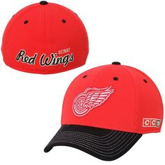 Detroit Red Wings CCM Flex Hat - Red - $23.99