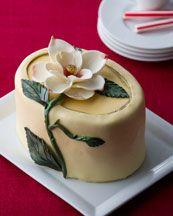Southern! Magnolia cheesecake.