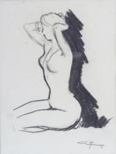 Drawings for Sale: Online Art Auctions French School, Fine Art Auctions, View Image, Online Art, Im Not Perfect, Antique, Drawings, Artist, Draw