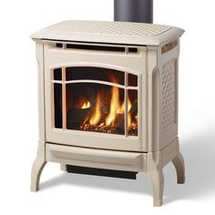 HearthStone Stowe Freestanding Gas Fireplace Our Stowe gas stove strikes a harmonious balance between size and heat output. Its proportions and flexible venting options allow the Stowe to fit perfectly into distinctive spaces. The Stowe provides cozy ambiance with efficient on-demand fire. Quality: Hearthstone stoves are constructed using fine-lined European cast iron. The quality of our