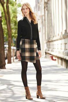 Next faux wrap blanket skirt A/W 2015 £30