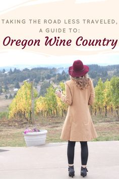 Willamette Valley wine itinerary: A guide to the best vineyards and wineries in Oregon wine country near Portland, Oregon.