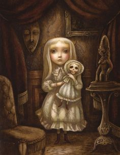 """The Hapless Child "", by Benjamin Lacombe (2012)."