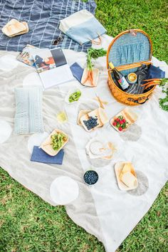 DIY Picnic Blanket Using a Canvas Drop Cloth