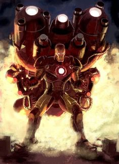 Trans-Atmospheric Iron Man by Chuk Wojtkiewicz Marvel Vs, Marvel Heroes, Captain Marvel, Comic Book Characters, Marvel Characters, Comic Books, Gi Joe, Iron Man Avengers, Hawkeye Avengers
