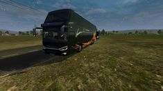 Livery BUSSID Double Decker SDD Jernih Game, Vehicles, Gaming, Car, Toy, Games, Vehicle, Tools