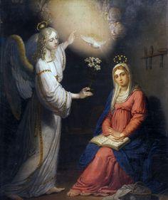 The Annunciation by Vladimir Borovikovsky