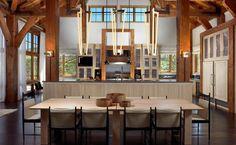 Modern konyha és étkező kapcsolata