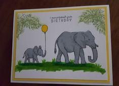 Hero Arts Layering Elephants