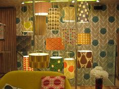 Orla Kiely Wallpaper available at www.removablewallpaper.com.au