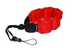 Polaroid Floating Wrist Strap Red for Underwater Waterproof Cameras/ Camcorders Housings by Polaroid. $6.99. The Polaroid Floating Flotation Wrist Strap (Red) is designed for underwater cameras, camcorders and housings. Its pads provide little resistance while using your camera underwater. Its low buoyancy means you won't have to fight the upward force of the flotation pads while shooting under water.