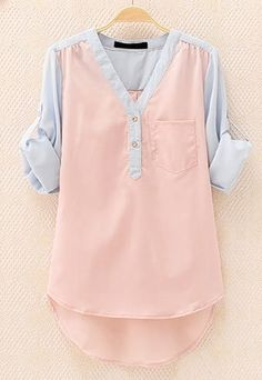 Leisure Sweet Mixing Candy Color T-shirt