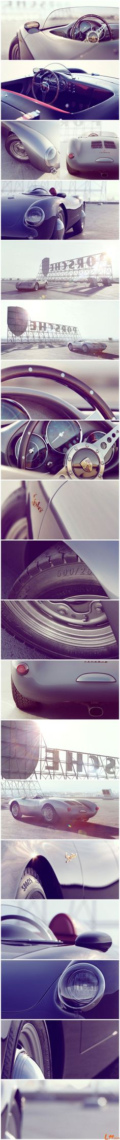 Porsche 550 real classic.