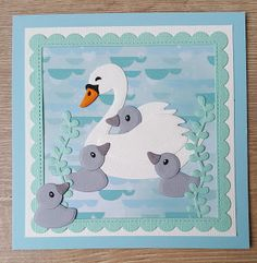 Candy Crafts, Paper Crafts, Diy And Crafts, Crafts For Kids, Marianne Design Cards, Bird Cards, I Card, Making Ideas, Cardmaking
