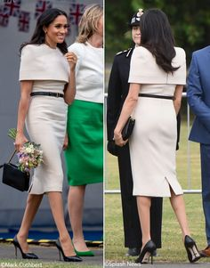 The Duchess Wears Givenchy, Sarah Flint & a Gift from the Queen in Cheshire – What Meghan Wore