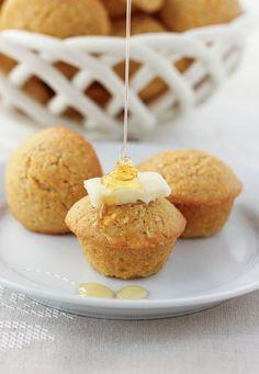 Gluten-Free Mini Cornbread Muffins {Dairy-Free} | Meaningful Eats