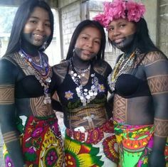 Embera-Wounaan Women from Panama