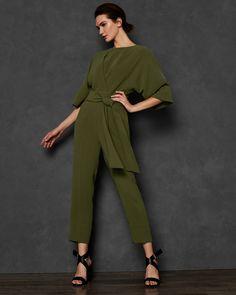 1ea095595e4f HEMLA Kimono sleeve jumpsuit #TedToToe Designer Jumpsuits, Jumpsuit With  Sleeves, Rompers Women,