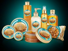 The Body Shop's New Collection - Wild Argan Oil love our NEW range
