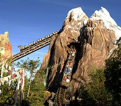 Expedition Everest, Animal Kingdom in Disneyworld. We loved this ride so much, rode it three times in one day!