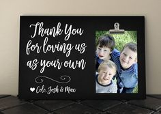 Free Design Proof, Thank You for LOVING us as your own, Gift for Adoptive Parents Stepdad Stepmom MOM DAD Grandparents, Blended Family ty06 by RusticReflectionsDS on Etsy
