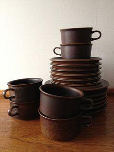 Finnish pottery - Arabia Ruska