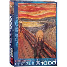 The Scream by Edvard Munch 1000-Piece Puzzle EuroGraphics http://www.amazon.com/dp/B002MYGQYQ/ref=cm_sw_r_pi_dp_RcYXvb060Y1CK