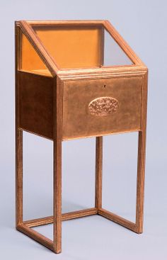 ** Josef Hoffmann Display cabinet  For the Wiener Werkstaette showroom  c. 1912