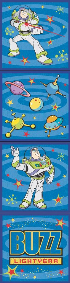 Toy Story Buzz Lightyear Wall Art SALE   Wall Sticker, Mural, U0026 Decal  Designs At Wall Sticker Outlet Part 46