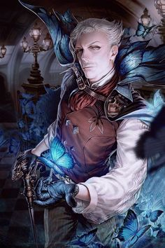 Discover recipes, home ideas, style inspiration and other ideas to try. Fantasy Character Design, Character Concept, Character Inspiration, Character Art, Arcane Trickster, James Moriarty, Fantasy Male, Arte Popular, Fate Stay Night