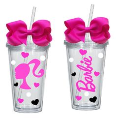 Hey, I found this really awesome Etsy listing at https://www.etsy.com/listing/152089474/barbie-girl-16oz-acrylic-tumbler