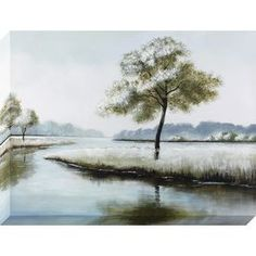 1-Piece 30-In W X 40-In H Frameless Canvas Landscapes Print Wall Art 1