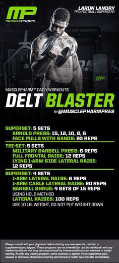 Delt Blaster  Workout | Posted By: CustomWeightLossProgram.com