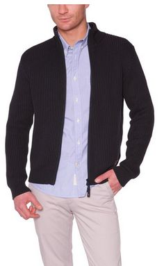 Dockers Dockers New Full Zip Sweater  Cárdigan de manga larga para hombre