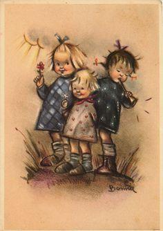 Bonnie postcard | eBay